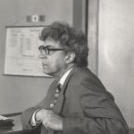 Святослав Сергеевич Лавров на защите дипломов на мат-мехе.  Июнь 1985 года