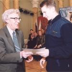 Награждения победителей XV всероссийской школьной олимпиады по информатике. 5 апреля 2003 года. Дворец Творчества Юных, Санкт-Петербург