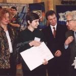 C серебряный призёром Михаилом Дворкиным и  председателем жюри Владимиром Михайловичем Кирюхиным