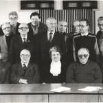 Встреча ветеранов космонавтики в Подлипках в 1988 году